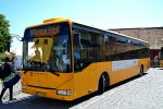 18.06.2017: BAT Irisbus Crossway bus nr. 758 på Kirkepladsen i Allinge.